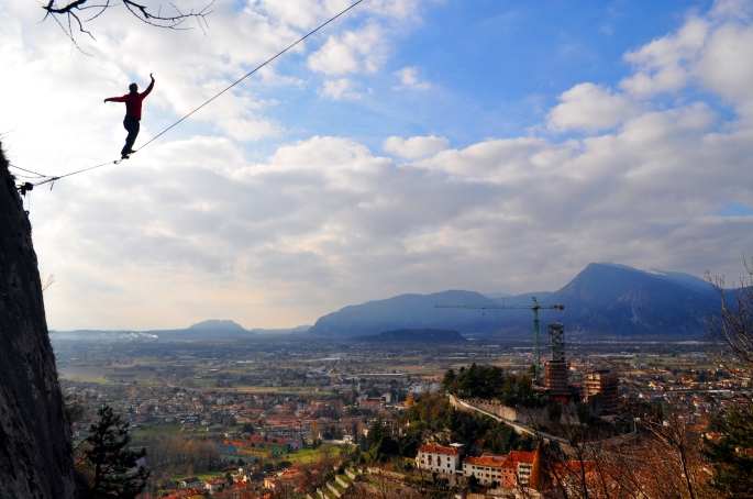 highline gemona del Friuli marco milanese